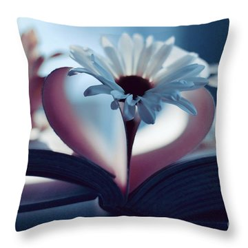 A Little Love And Light In Your Heart Throw Pillow