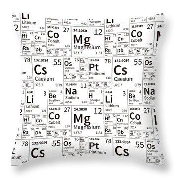 Aluminum Throw Pillows