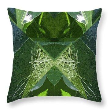 A-maize 2 - Flying Corn - Throw Pillow