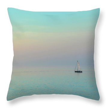 A Mid-summer Evening Throw Pillow