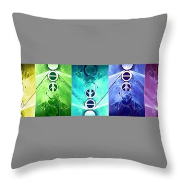 A New World, Chaos Throw Pillow