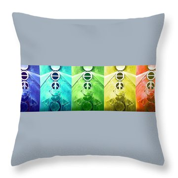 A New World, Order Throw Pillow