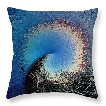 A Passage Of Time Throw Pillow