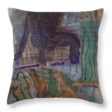 A Pawn On Life's Board Throw Pillow
