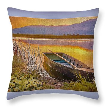 A Perfect Day Throw Pillow