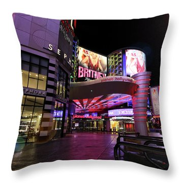 A Planet Hollywood Las Vegas Resort And Casino Throw Pillow