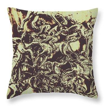 A Punters Mixed Bag Throw Pillow