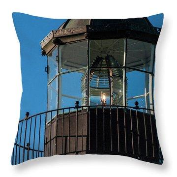A Sailor's Beacon Throw Pillow