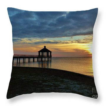 Throw Pillow featuring the photograph A Sense Of Place by Rosanne Licciardi