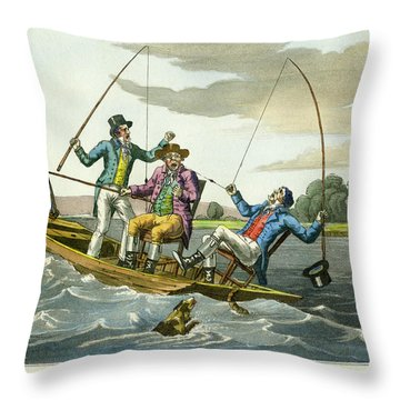 A Sharp Bite Throw Pillow