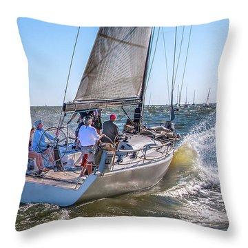 A Splashing Good Time Throw Pillow