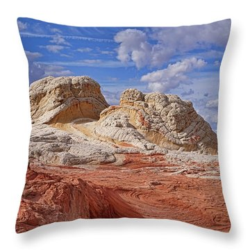Throw Pillow featuring the photograph A Strange View by Theo O'Connor