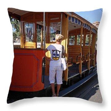 A Street Car Named Design Throw Pillow
