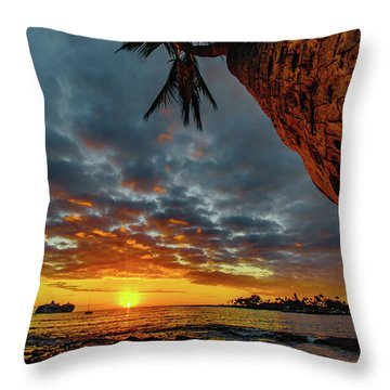 A Typical Wednesday Sunset Throw Pillow