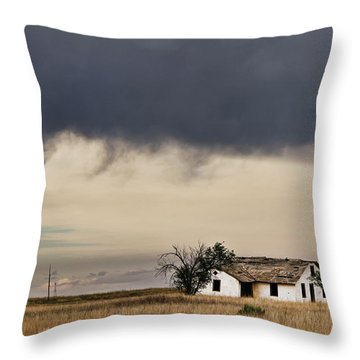 Abandoned New Mexico Throw Pillow