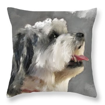Abby 2 Throw Pillow