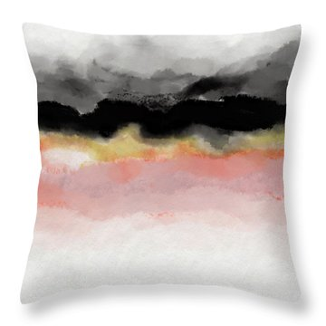 Abiding 1- Art By Linda Woods Throw Pillow