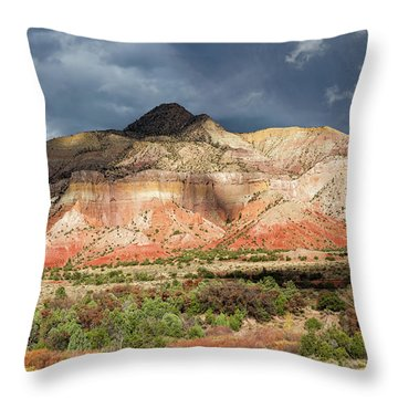 Abiquiu Country  Throw Pillow
