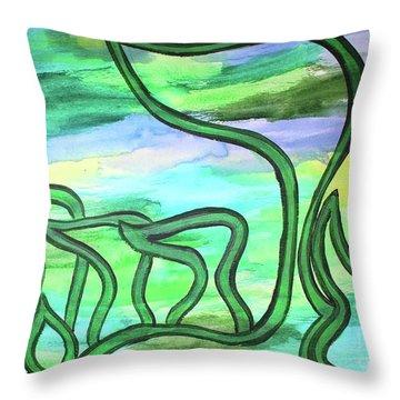 Abraham Nm2-4 Throw Pillow