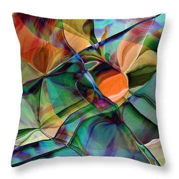Abstract 062319 Throw Pillow