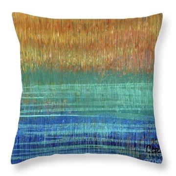 Abstract 1001 - Art By Cori Throw Pillow