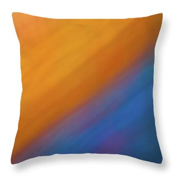 Abstract 44 Throw Pillow