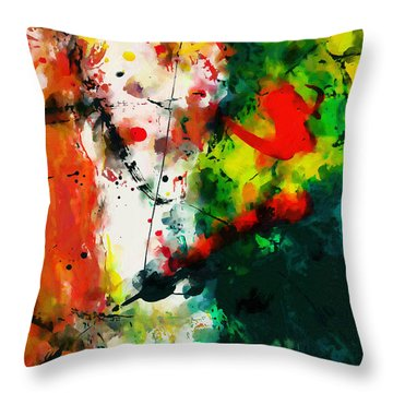 Abstract - Dwp443292860 Throw Pillow
