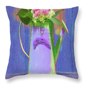 Abstract Floral Art 343 Throw Pillow