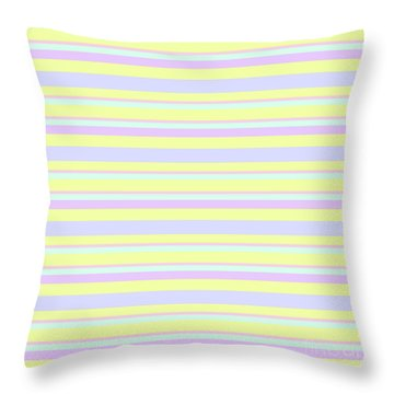 Abstract Horizontal Fresh Lines Background - Dde596 Throw Pillow