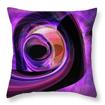 Abstract Rendered Artwork 3 Throw Pillow