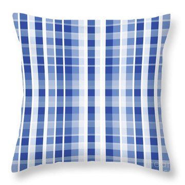 Abstract Squares And Lines Background - Dde609 Throw Pillow