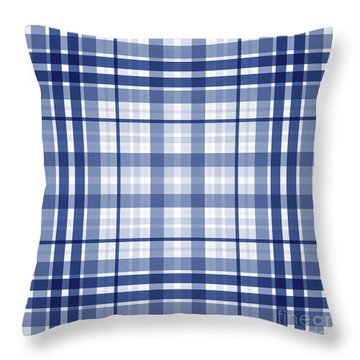 Abstract Squares And Lines Background - Dde611 Throw Pillow