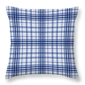 Abstract Squares And Lines Background - Dde613 Throw Pillow