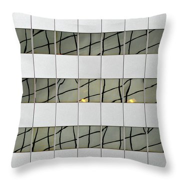 Abstritecture 13 Throw Pillow