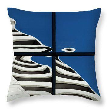 Abstritecture 41 Throw Pillow