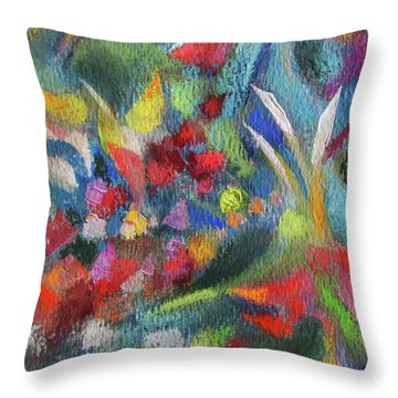 Abundance - Detail Throw Pillow