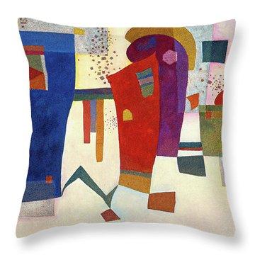 Accompanied Contrast, 1935 Throw Pillow
