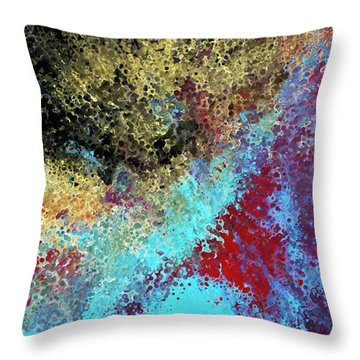Acts 1 8. Receive Power Throw Pillow