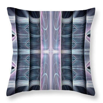 Throw Pillow featuring the digital art Acts by Missy Gainer