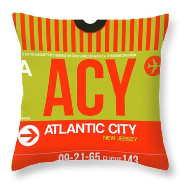 Atlantic Digital Art Throw Pillows