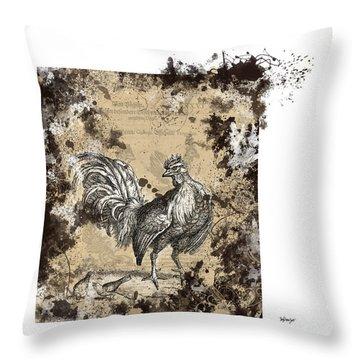 Adam Lonitzer 1593, Barlow 1690 Throw Pillow