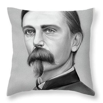 Adelbert Ames Throw Pillow