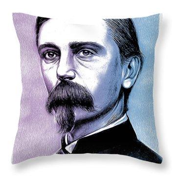 Adelbert Ames Pop Art Throw Pillow