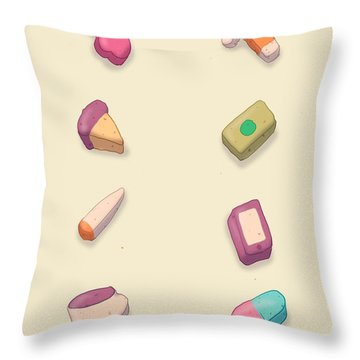 Adult Lucky Charms Throw Pillow