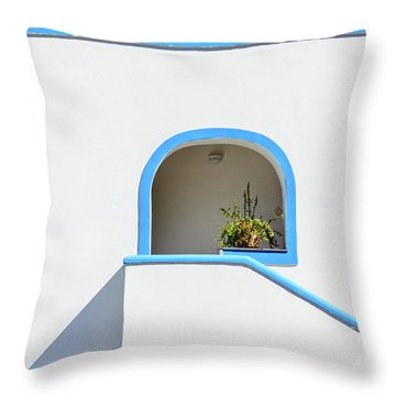 Aeolian Geometry Throw Pillow