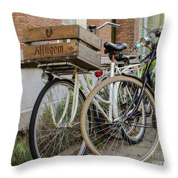 Affligem Blonde Throw Pillow
