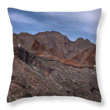 Throw Pillow featuring the photograph Afghanistan Border by Awais Yaqub