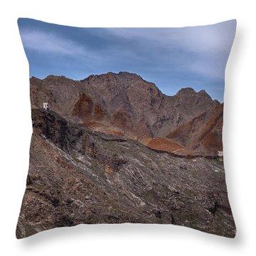 Afghanistan Border Throw Pillow