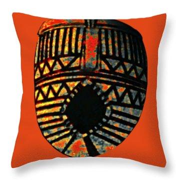 African Art Mask1 Throw Pillow
