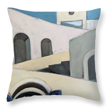 After De Chirico Throw Pillow